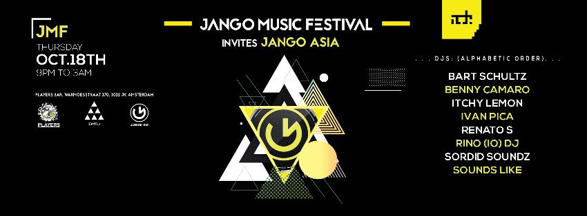 Jango Music Festival Invite Jango Asia